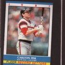 Carlton Fisk 1987 Fleer Record Setters (C00184)