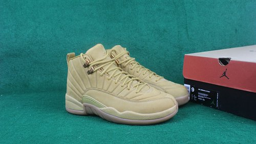 Jordan 12 Wheat Sample