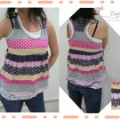 Sweet 2Pcs RacerBack Tank Top