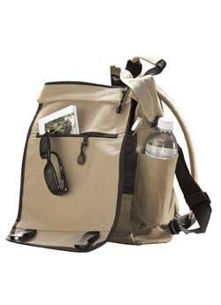 Convertible Tech Backpack, Black