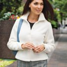 Fleece Jacket, Ivory, 2XL