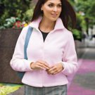 Fleece Jacket, Pink, Large