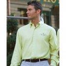 Cubavera Silk Shirt, Lime, Medium