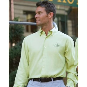 Cubavera Silk Shirt, Lime, Large