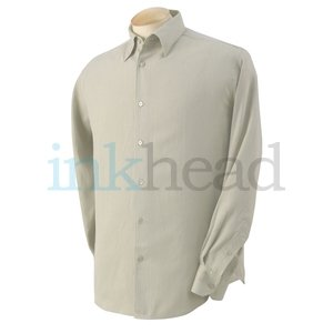 Cubavera Silk Shirt, Sand, XL