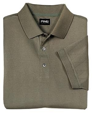 Ping Argyle Golf Shirt, Herb, Medium