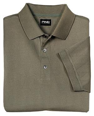 Ping Argyle Golf Shirt, Herb, Large