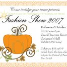 Ticket--Fashion Show 2007 10.31.07