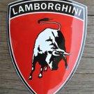 Heavy quality porcelain advertising sign Lamborghini shield garage plaque RB