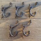 5 large cast iron industrial factory coat hook wall hanging coathooks AL49