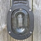 The Wigan heavy cast iron blast proof engine room bulk head light wall light N