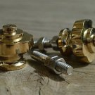 A pair of superb quality Art Deco brass furniture knobs handle knob Z13