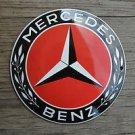 Superb heavy quality porcelain advertising sign Mercedes Benz garage plaque RBLK