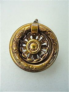 CLASSIC BRASS ANTIQUE STYLE FURNITURE DRAWER RING PULL HANDLE W102