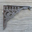 Victorian style cast iron wall hanging basket hook bracket light bracket SLB1