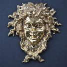 Superb solid brass Bacchus Roman god of wine Dionysus Greek god ormolu mount