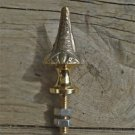 Superb quality antique brass furniture or clock finial Z7