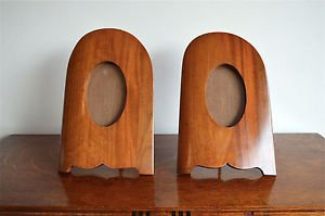 pair of antique mahogany aeroplane propellor photo frames propeller trench art
