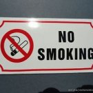 LARGE ANTIQUE STYLE ENAMEL NO SMOKING SIGN