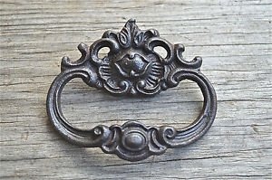 French Rococo cast iron drawer pull furniture handle cabinet chest draw AL18