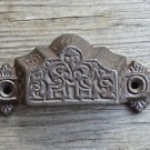 Victorian Gothic Revival cast iron drawer pull furniture handle AL7