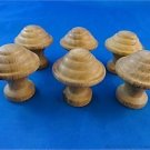 SET OF 6 CLASSIC VICTORIAN STYLE CHEST OF DRAWERS KNOBS HARDWOOD DRAWER KNOB SK4