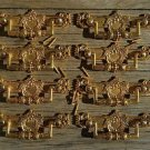 8 Regency brass folliage drawer handle draw pull desk chest cabinet 2025