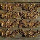 8 Regency brass folliage drawer handle draw pull desk chest cabinet 2025