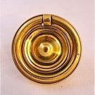 CLASSIC QUALITY BRASS ANTIQUE STYLE FRET FURNITURE DRAWER PLATE PULL HANDLE W75