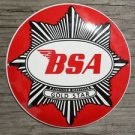 SUPERB VINTAGE BSA GOLD STAR ENAMEL METAL SIGN PLAQUE