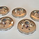 SET 5 CLASSIC STYLE CHROME GLASS LIGHT SHADE GALLERY 4 1/4 INCH LAMP SHADE NR9