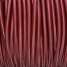 1 METER BURGUNDY SILK COVERED 3 CORE LIGHT FLEX WIRE BRAIDED CORD HANG LAMP B5