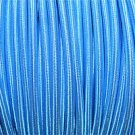 1 METER BLUE SILK COVERED 3 CORE LIGHT FLEX WIRE BRAIDED CORD HANGING LAMP B13