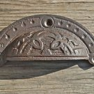 Victorian cast iron cup drawer pull furniture handle file chest of dawers AL1