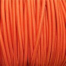 1 METER ORANGE SILK COVERED 3 CORE LIGHT FLEX WIRE BRAIDED CORD HANGING LAMP B12