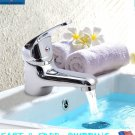 Chrome Hot Cold Mixer Kitchen Bathroom Wash Basin Faucet Body Bath Water Tap Kit