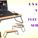 Multipurpose Portable Laptop Desk Board Computer Notebook Folding Table Stand