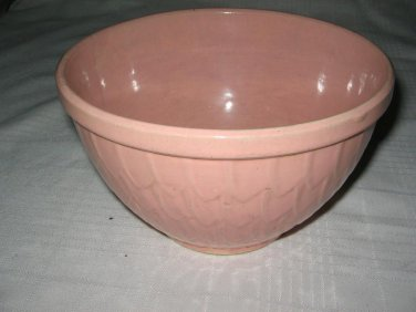 McCoy Pottery Fish Scale pink mixing bowl