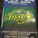 NORTH DAKOTA STATE BISON NDSU 3'X5' BRAND NEW IN PACKAGE!!!