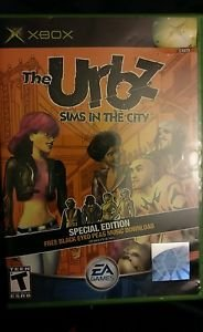 XBOX GAME-Urbz Sims in the City
