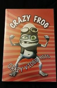 Crazy Frog Presents:  Crazy Video Hits DVD -Used