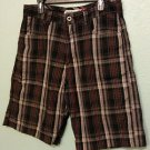 Billabong Long Shorts Plaid Size 33 Used-VERY GOOD