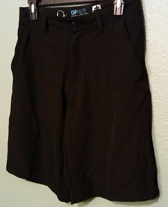 Op Opflex 4-Way Stretch Black Hybrid Swim Shorts-size 28-NEW W/O TAGS
