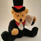 NWT Mary Meyer Marcus Milestone Millennium Plush Teddy Bear Ltd Ed 2000 Jointed