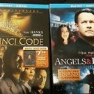 The DaVinci Code (10th Anniversary)/Angels & Demons [Blu-Ray+Digital]  NEW!!!