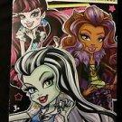 Monster High 32 Valentine Cards With Glitter Tattoos NIB (x 2)!!!