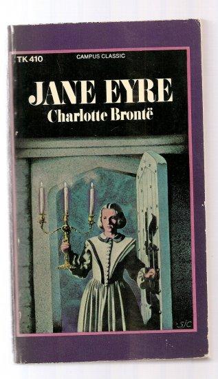 JANE EYRE, Charlotte Bronte, VINTAGE paperback, 1962