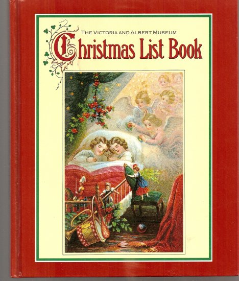 Christmas List Book/LONDON/collectable-UNIQUE!