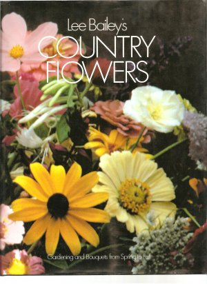 Country Flowers, oversized book, in full color! Gorgeous!