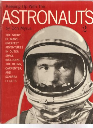ASTRONAUTS, rare collectible vintage picture book